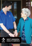 West Wimmera Health Service_Annual_Report_2018_19_Cover Page_Sml